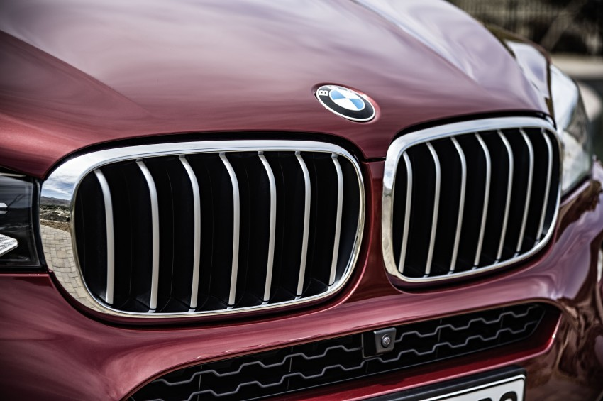 BMW X6 – second-gen F16 makes its official debut Image #252279