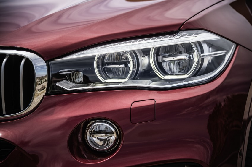 BMW X6 – second-gen F16 makes its official debut Image #252281