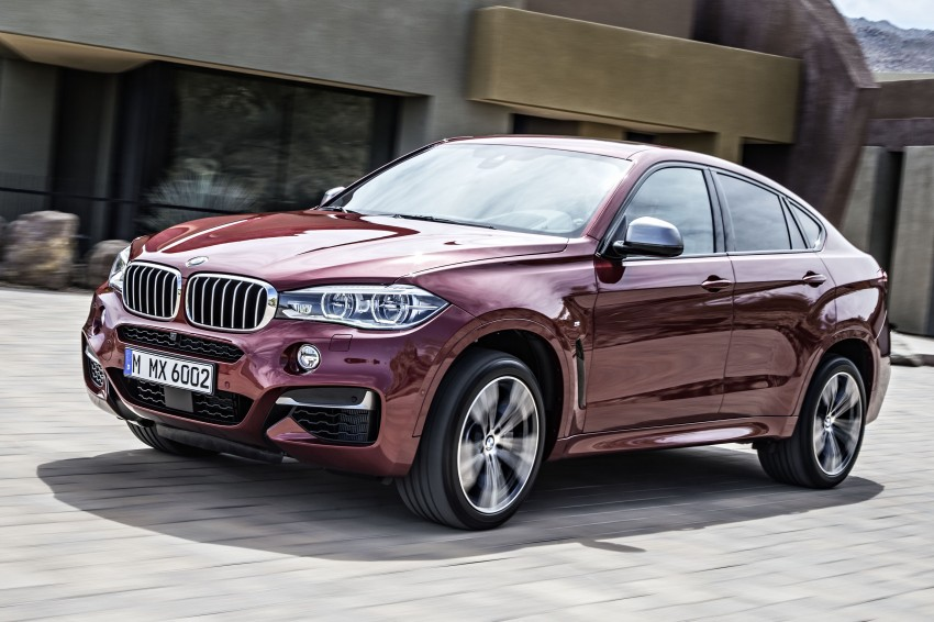 BMW X6 – second-gen F16 makes its official debut Image #252282