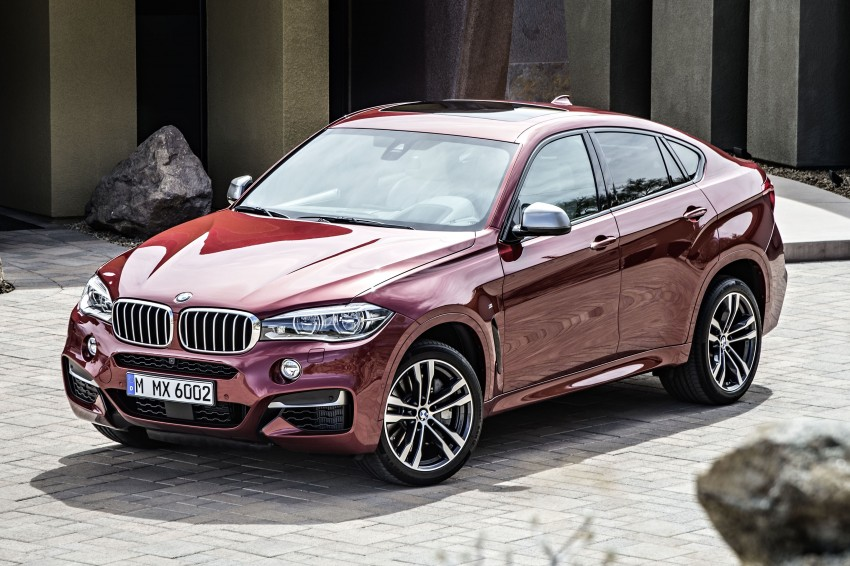BMW X6 – second-gen F16 makes its official debut Image #252284