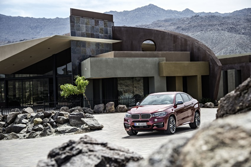 BMW X6 – second-gen F16 makes its official debut Image #252285