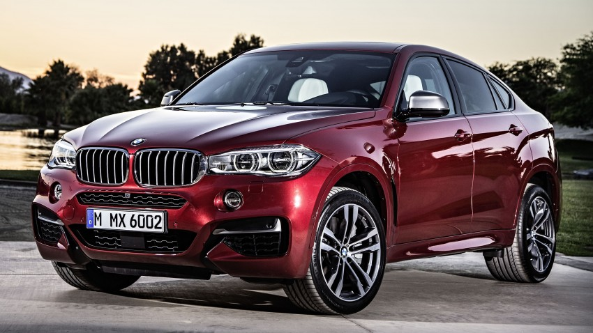 BMW X6 – second-gen F16 makes its official debut Image #252287