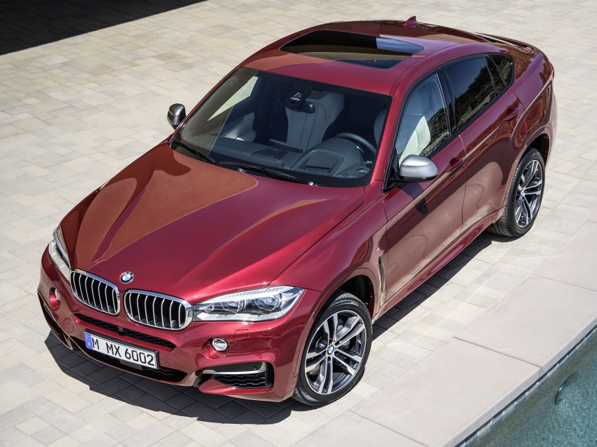BMW X6 – second-gen F16 makes its official debut Image #252289