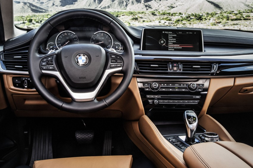 BMW X6 – second-gen F16 makes its official debut Image #252298