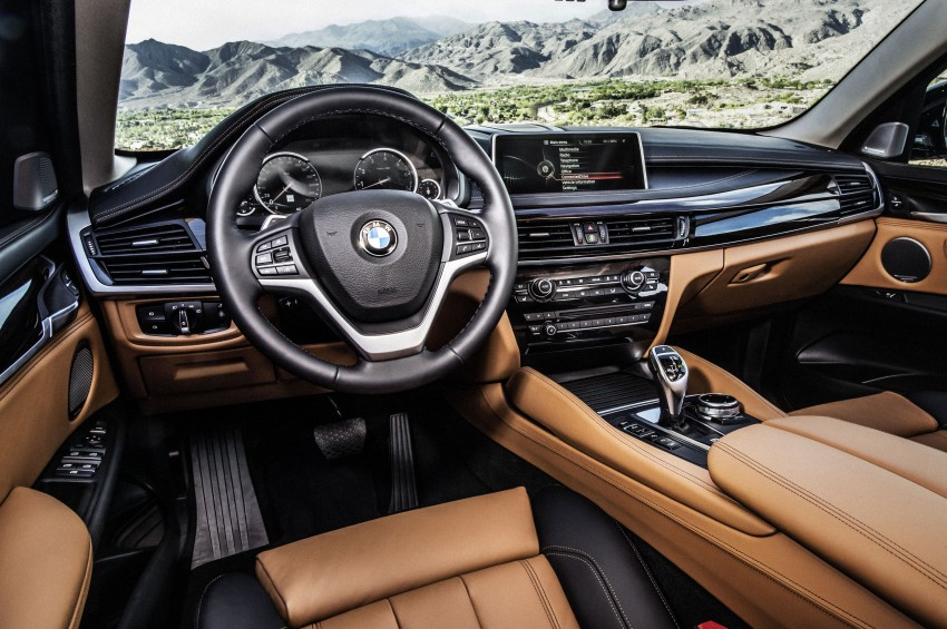 BMW X6 – second-gen F16 makes its official debut Image #252299