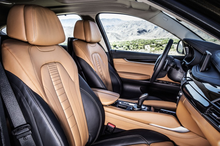 BMW X6 – second-gen F16 makes its official debut Image #252300