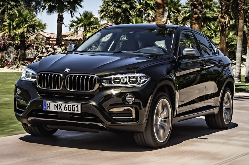 BMW X6 – second-gen F16 makes its official debut Image #252226