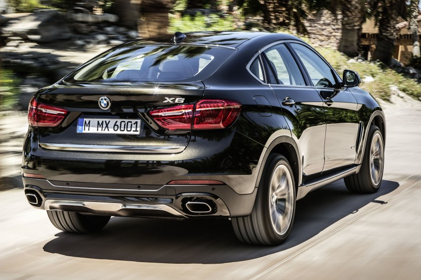 BMW X6 – second-gen F16 makes its official debut Image #252227