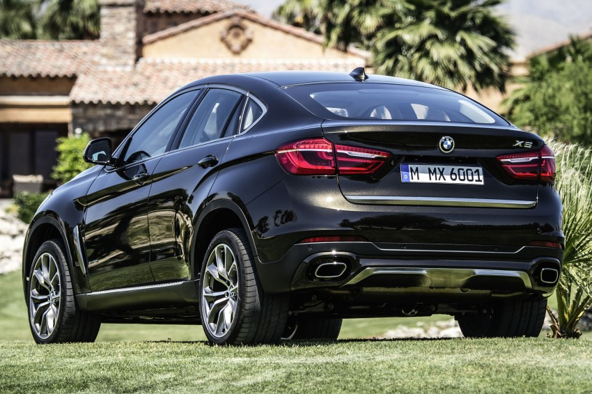 BMW X6 – second-gen F16 makes its official debut Image #252228