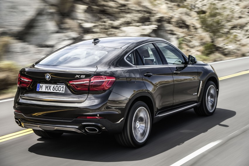 BMW X6 – second-gen F16 makes its official debut Image #252229