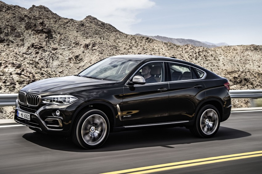 BMW X6 – second-gen F16 makes its official debut Image #252230