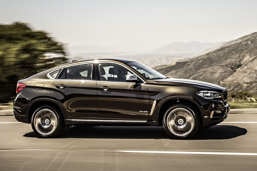 BMW X6 – second-gen F16 makes its official debut Image #252231