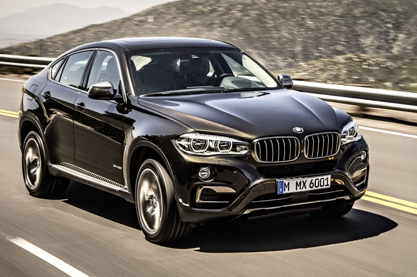BMW X6 – second-gen F16 makes its official debut Image #252232