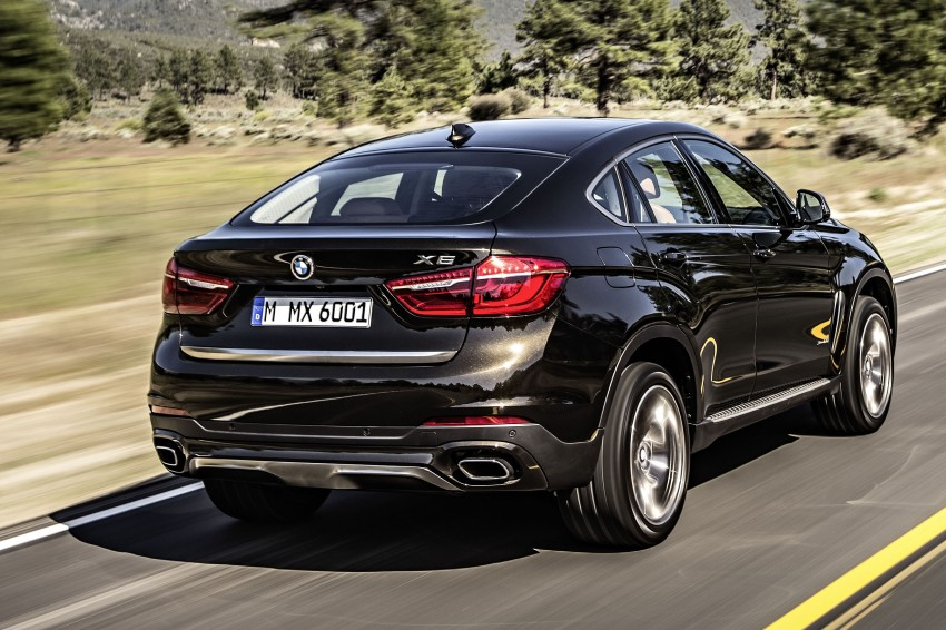 BMW X6 – second-gen F16 makes its official debut Image #252234