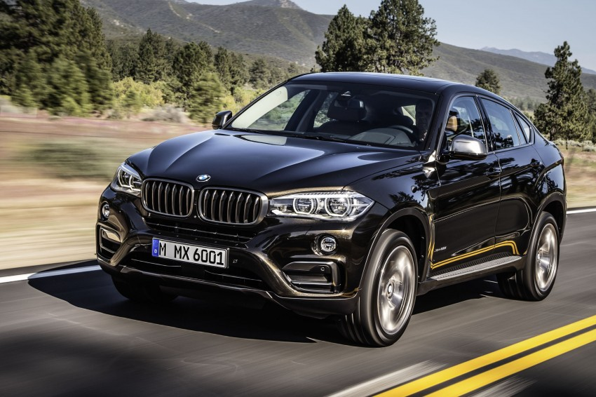 BMW X6 – second-gen F16 makes its official debut Image #252235