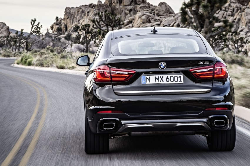BMW X6 – second-gen F16 makes its official debut Image #252237