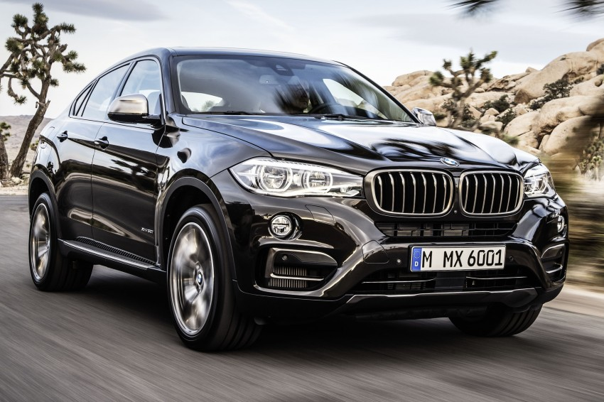 BMW X6 – second-gen F16 makes its official debut Image #252238