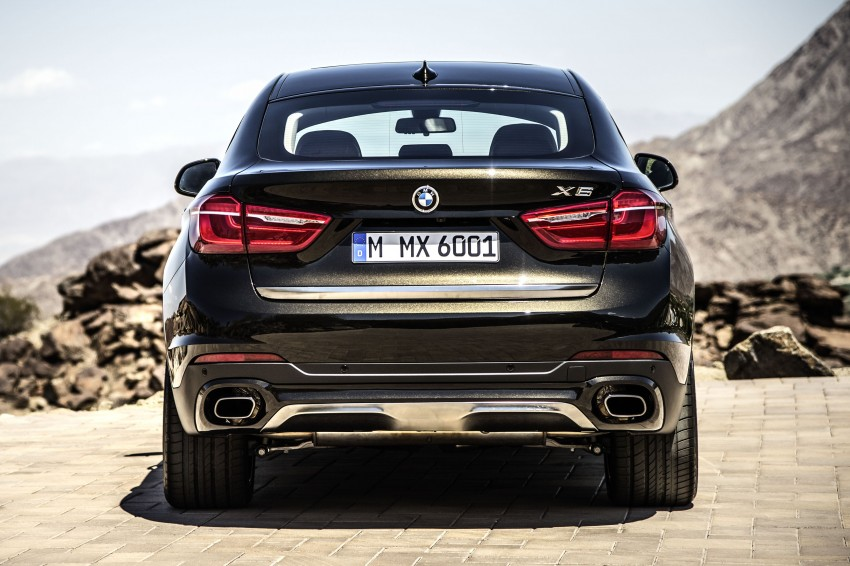 BMW X6 – second-gen F16 makes its official debut Image #252239