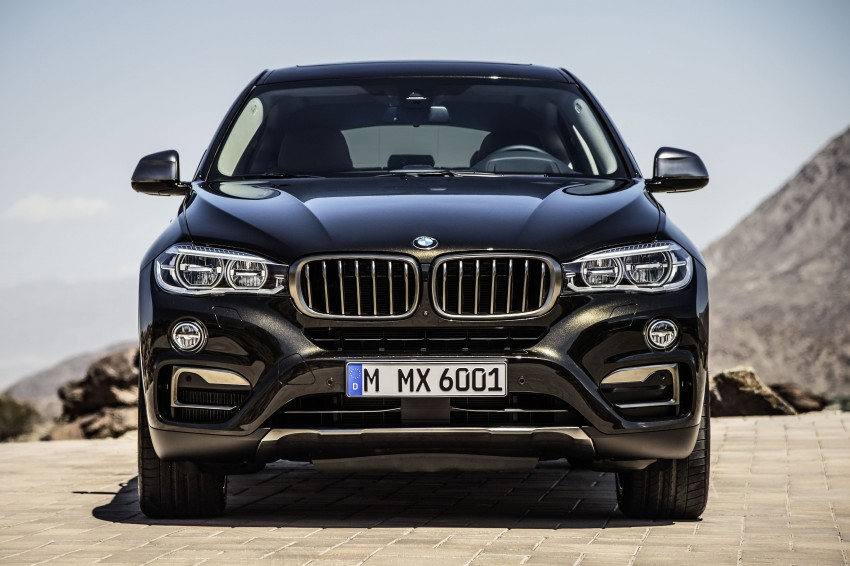 BMW X6 – second-gen F16 makes its official debut Image #252240