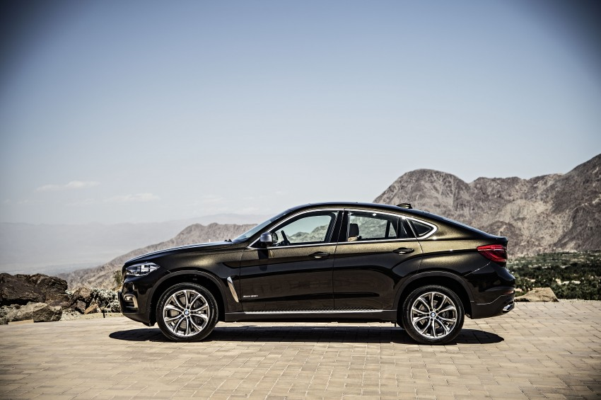 BMW X6 – second-gen F16 makes its official debut Image #252241