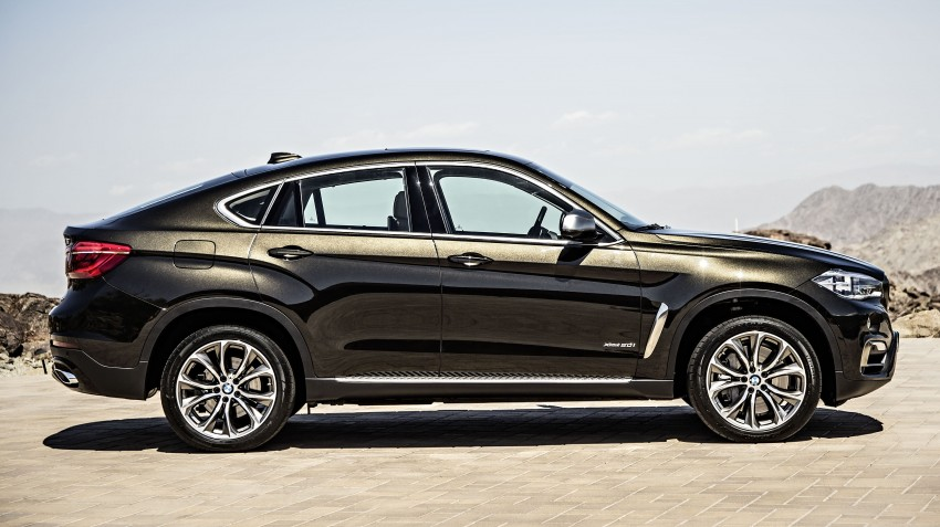 BMW X6 – second-gen F16 makes its official debut Image #252242