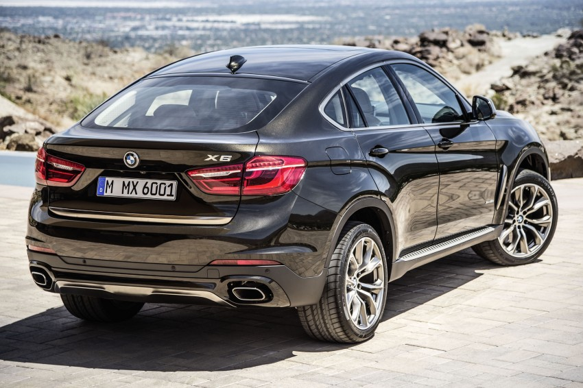 BMW X6 – second-gen F16 makes its official debut Image #252244