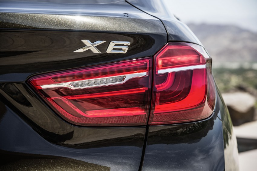 BMW X6 – second-gen F16 makes its official debut Image #252245