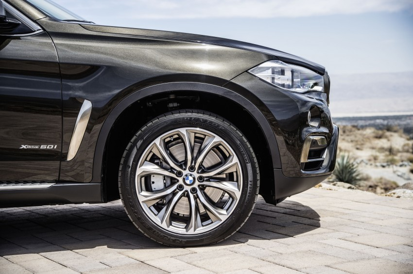 BMW X6 – second-gen F16 makes its official debut Image #252249