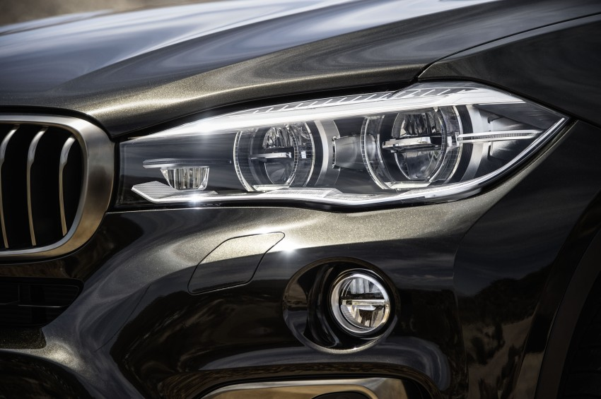 BMW X6 – second-gen F16 makes its official debut Image #252251