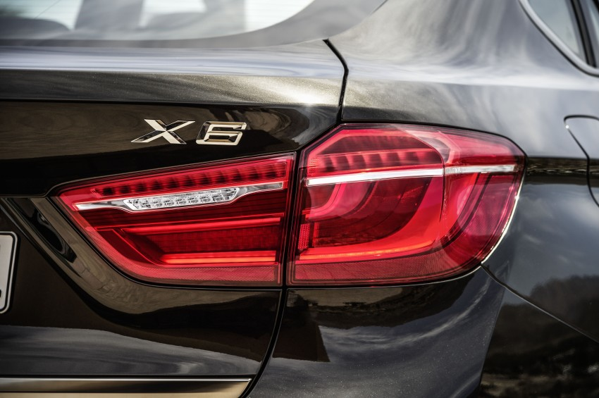BMW X6 – second-gen F16 makes its official debut Image #252252