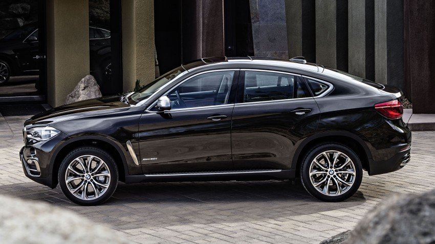 BMW X6 – second-gen F16 makes its official debut Image #252253