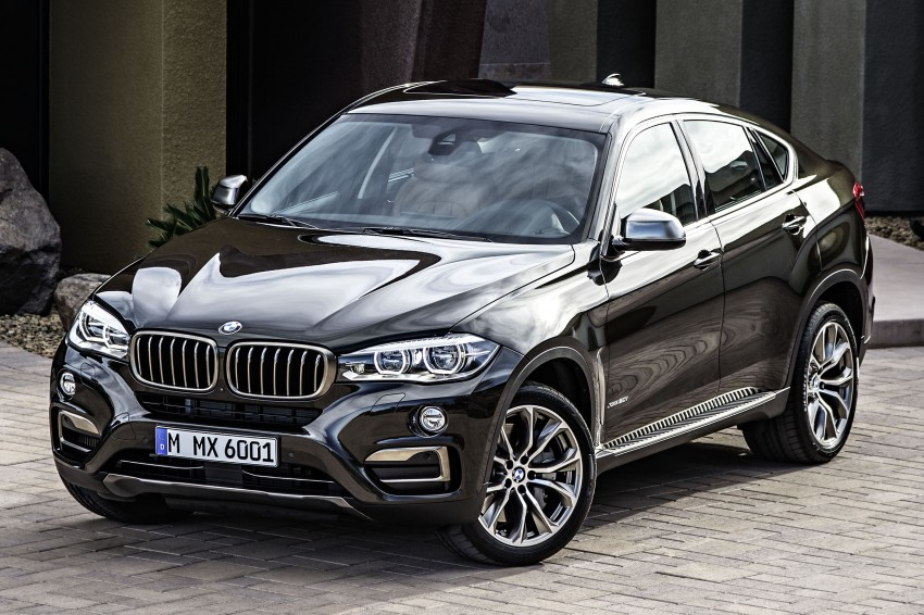 BMW X6 – second-gen F16 makes its official debut Image #252265