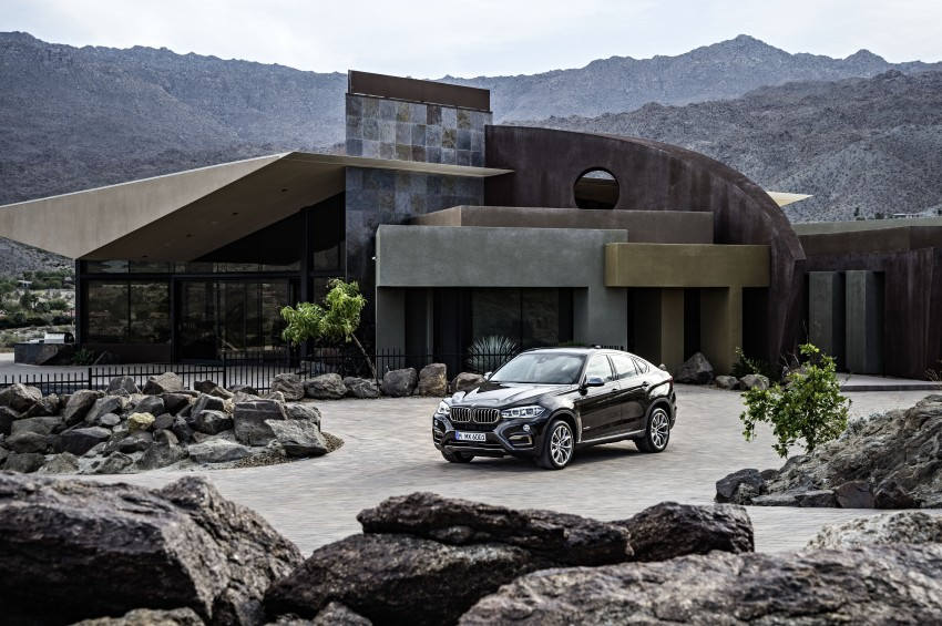 BMW X6 – second-gen F16 makes its official debut Image #252258