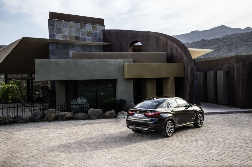 BMW X6 – second-gen F16 makes its official debut Image #252259