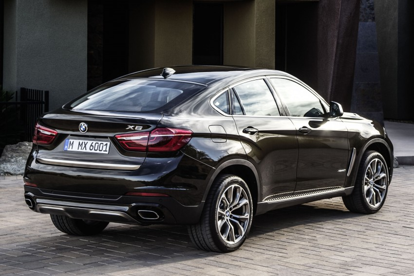 BMW X6 – second-gen F16 makes its official debut Image #252266