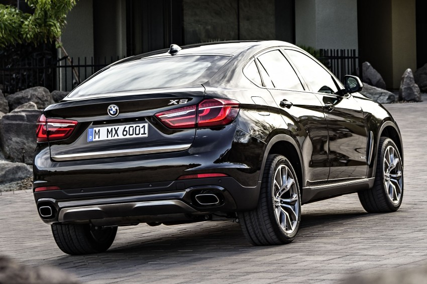 BMW X6 – second-gen F16 makes its official debut Image #252267