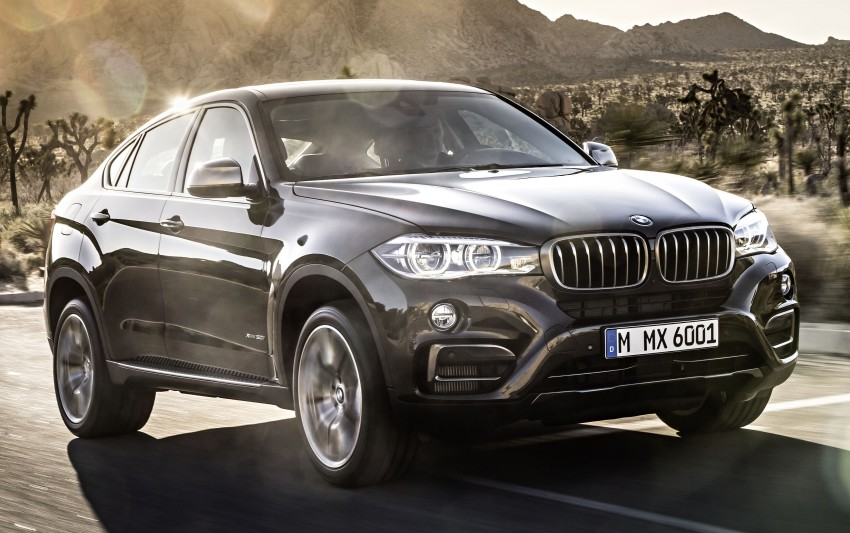 BMW X6 – second-gen F16 makes its official debut Image #252263