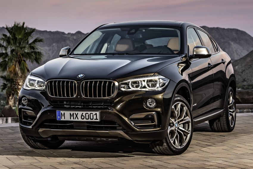 BMW X6 – second-gen F16 makes its official debut Image #252264