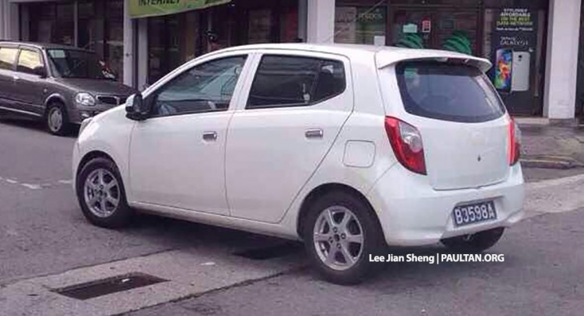 Perodua 'Axia' Global EEV leaked onto the internet – here's what we know about the new hatchback Image #252696
