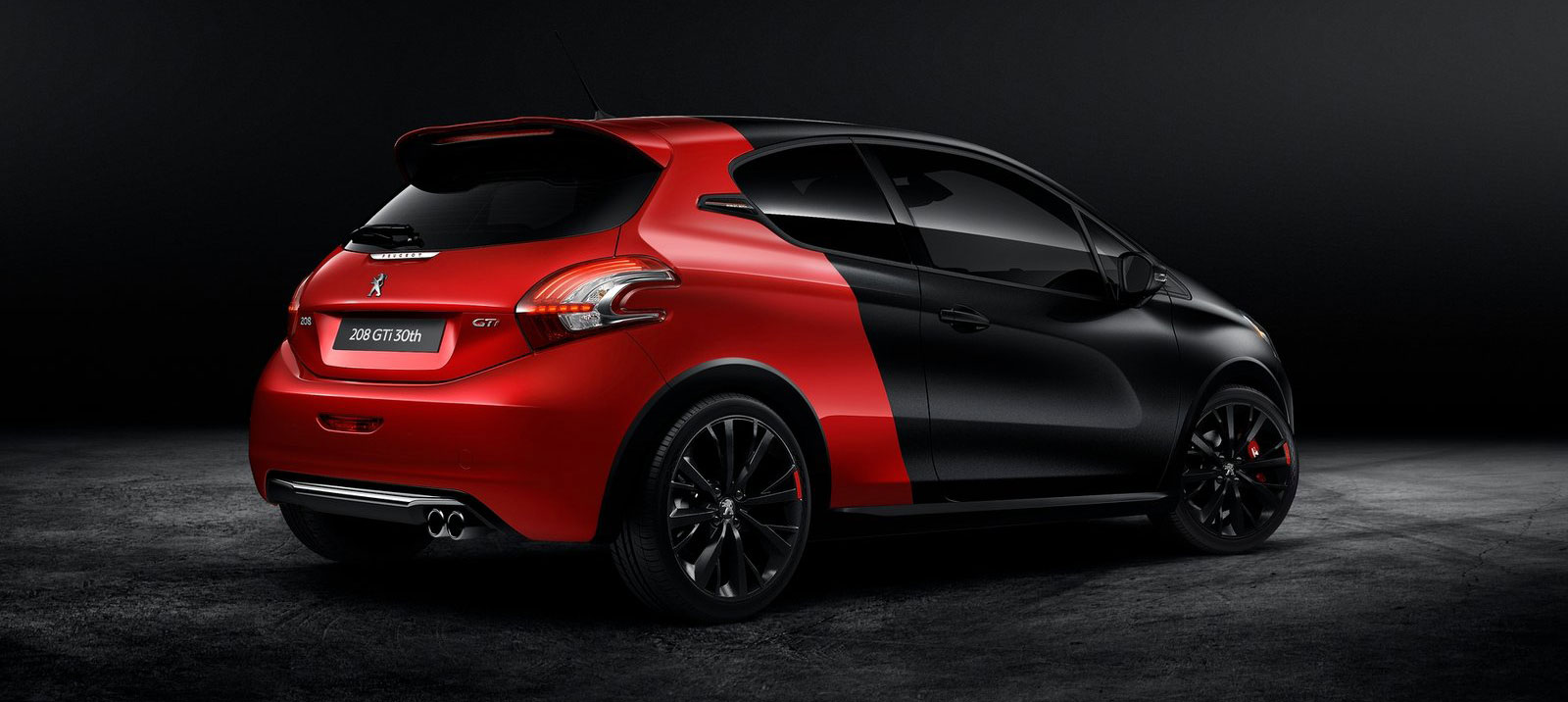 peugeot 208 gti 30th anniversary 208 hp 300 nm. Black Bedroom Furniture Sets. Home Design Ideas