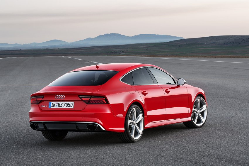 Audi RS7 Sportback facelift – lightly sharpened looks Image #251214