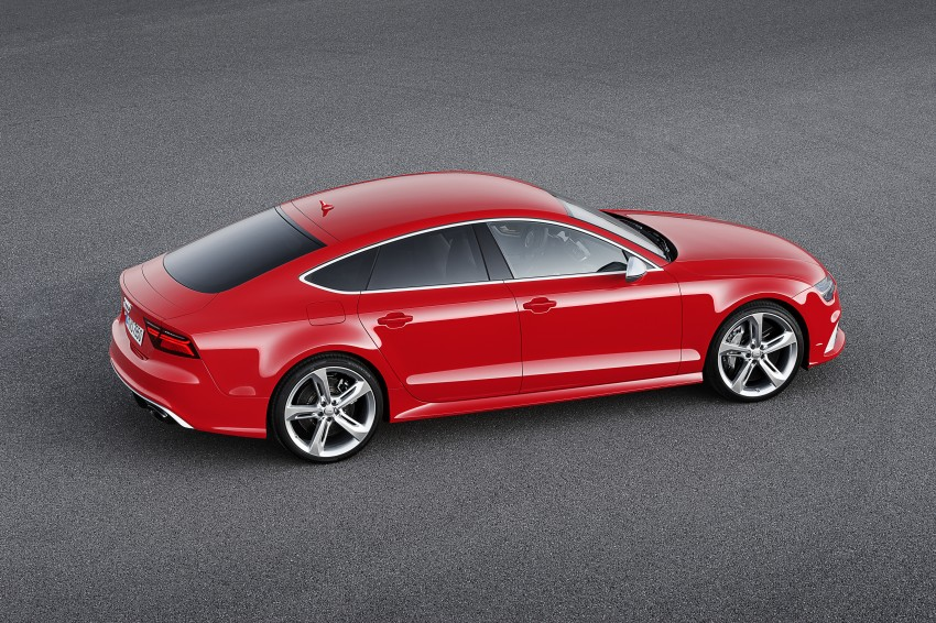 Audi RS7 Sportback facelift – lightly sharpened looks Image #251212