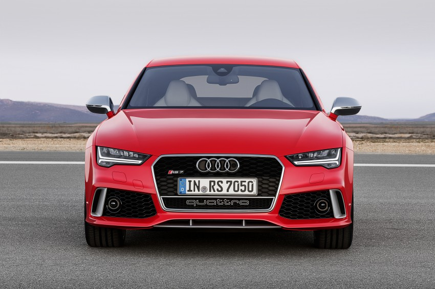 Audi RS7 Sportback facelift – lightly sharpened looks Image #251213