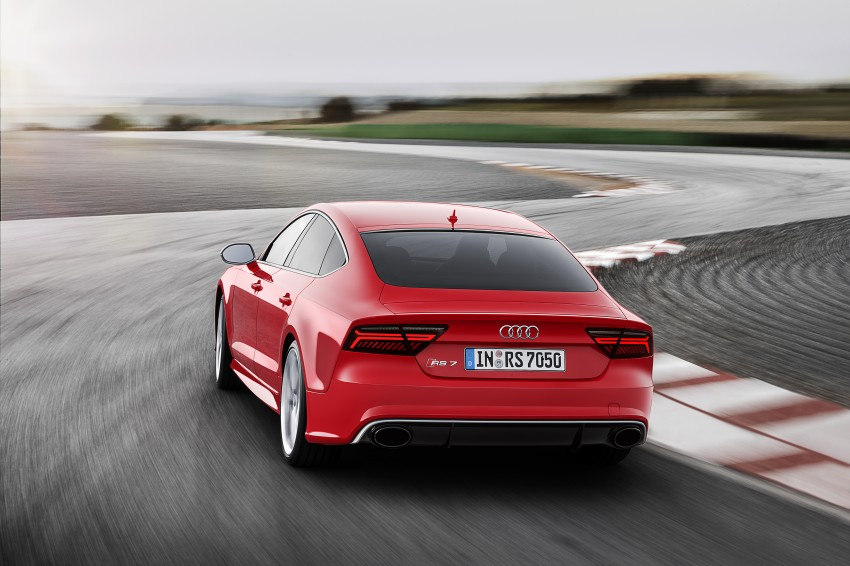 Audi RS7 Sportback facelift – lightly sharpened looks Image #251210