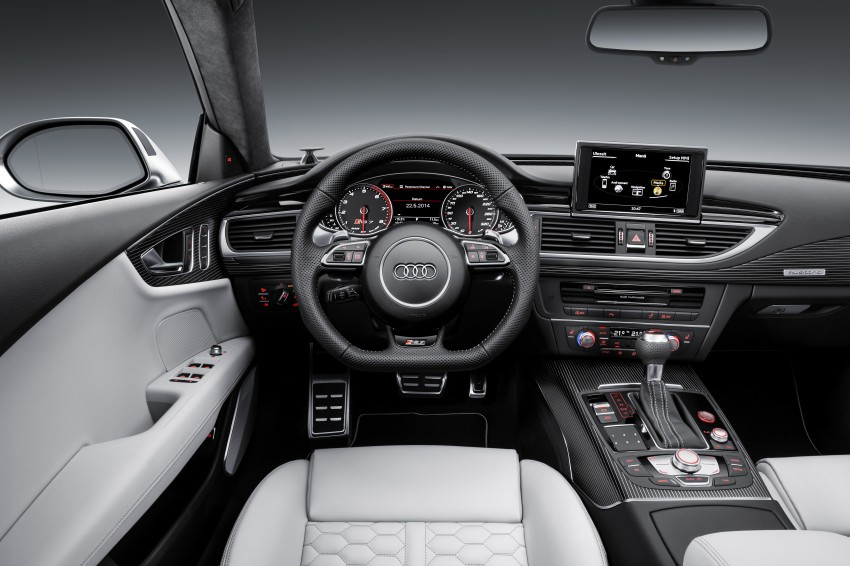 Audi RS7 Sportback facelift – lightly sharpened looks Image #251209