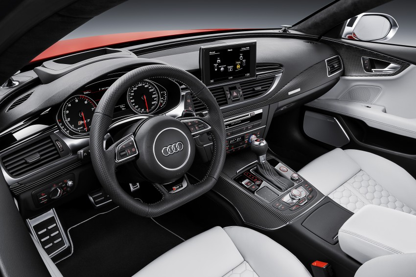 Audi RS7 Sportback facelift – lightly sharpened looks Image #251211