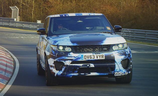 Range Rover Sport SVR proto 1