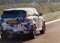 Range Rover Sport SVR proto 2