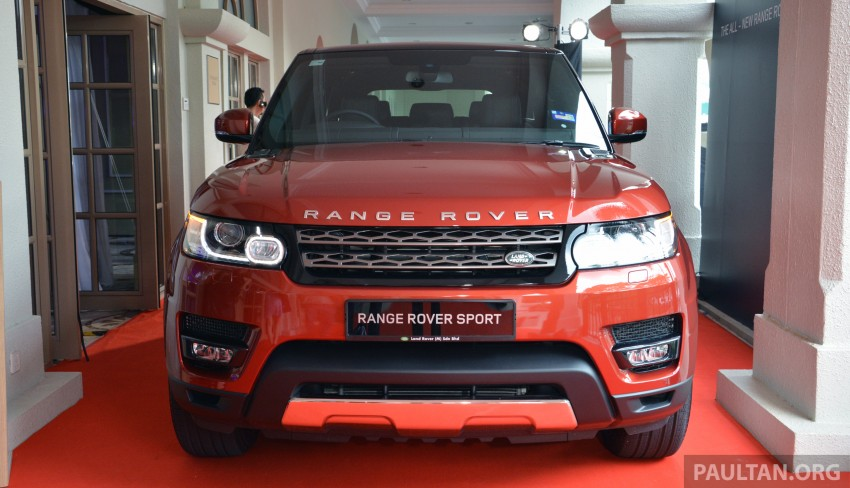 2014 Range Rover Sport launched – from RM860k Image #251720