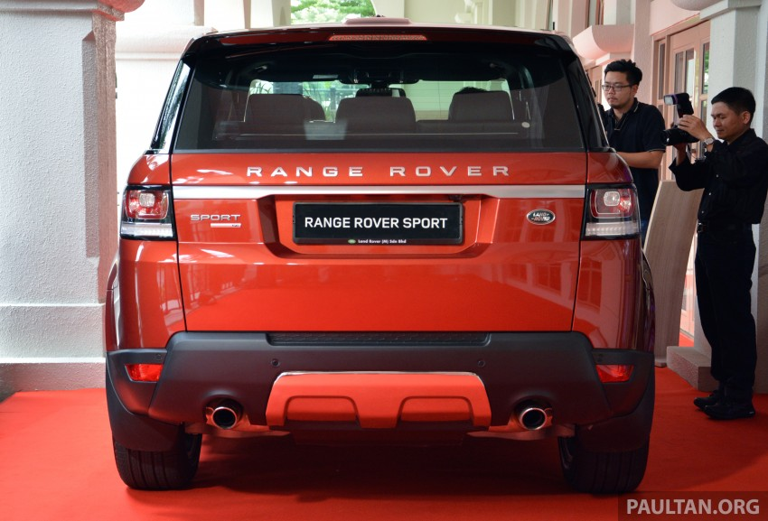 2014 Range Rover Sport launched – from RM860k Image #251723
